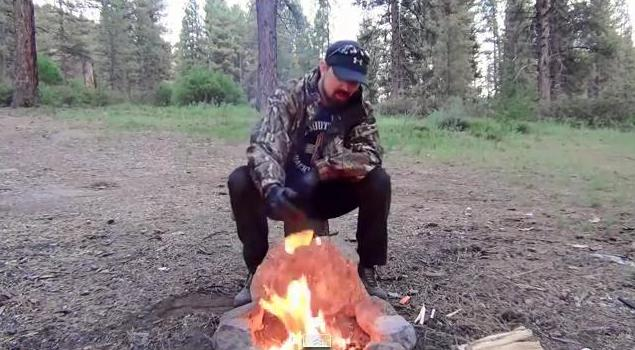 How to Make a Smokeless Campfire
