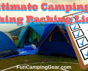 Camping and Hiking Packing List