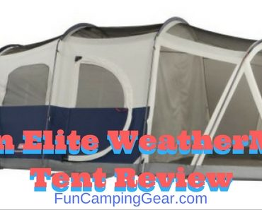 Wenzel Klondike Tent Review  sc 1 st  PinStake & Coleman Elite Weathermaster 6 17 X 9 Ft Six Person 2 Room Tent ...