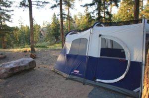 Coleman Elite WeatherMaster 6 Tent in the woods